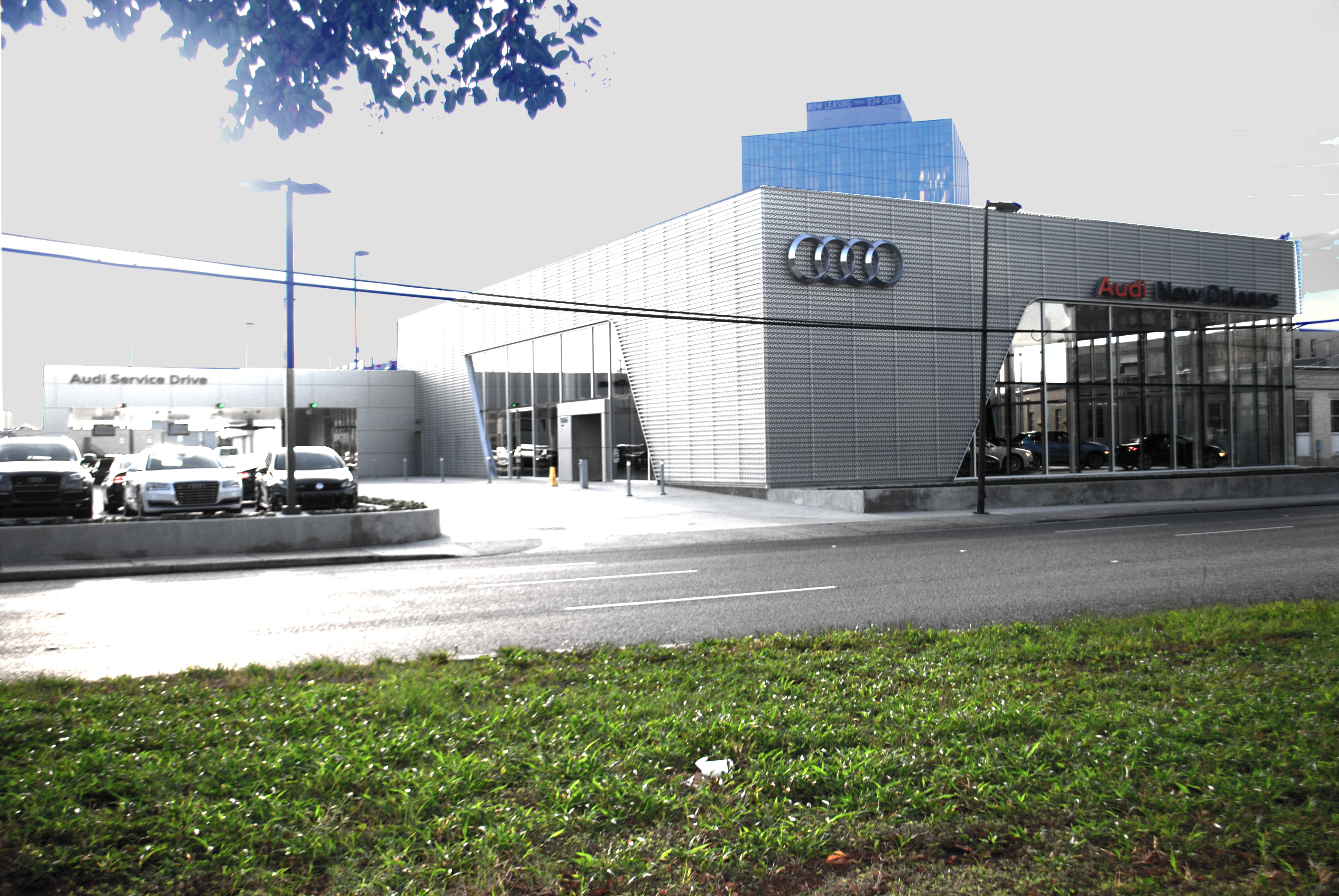 Audi New Orleans Mouton Long Turner Architects - Audi new orleans